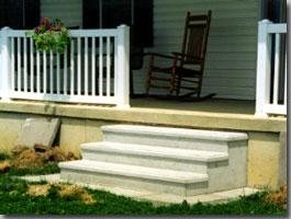Carey Precast Concrete Steps